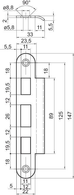 SL1266 sluttstykke