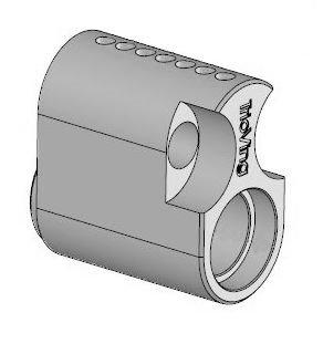 SD5557 utvendig sylinder oval rokokko