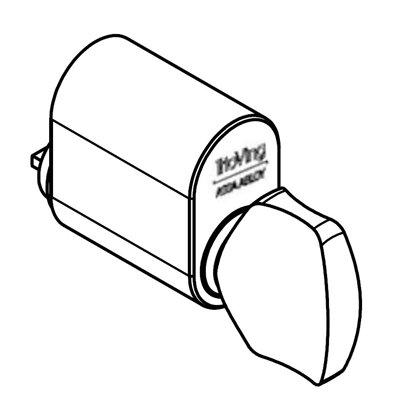 SY5551 oval knappsylinder spesial
