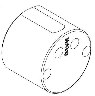SY5578 blindsylinder rund innside