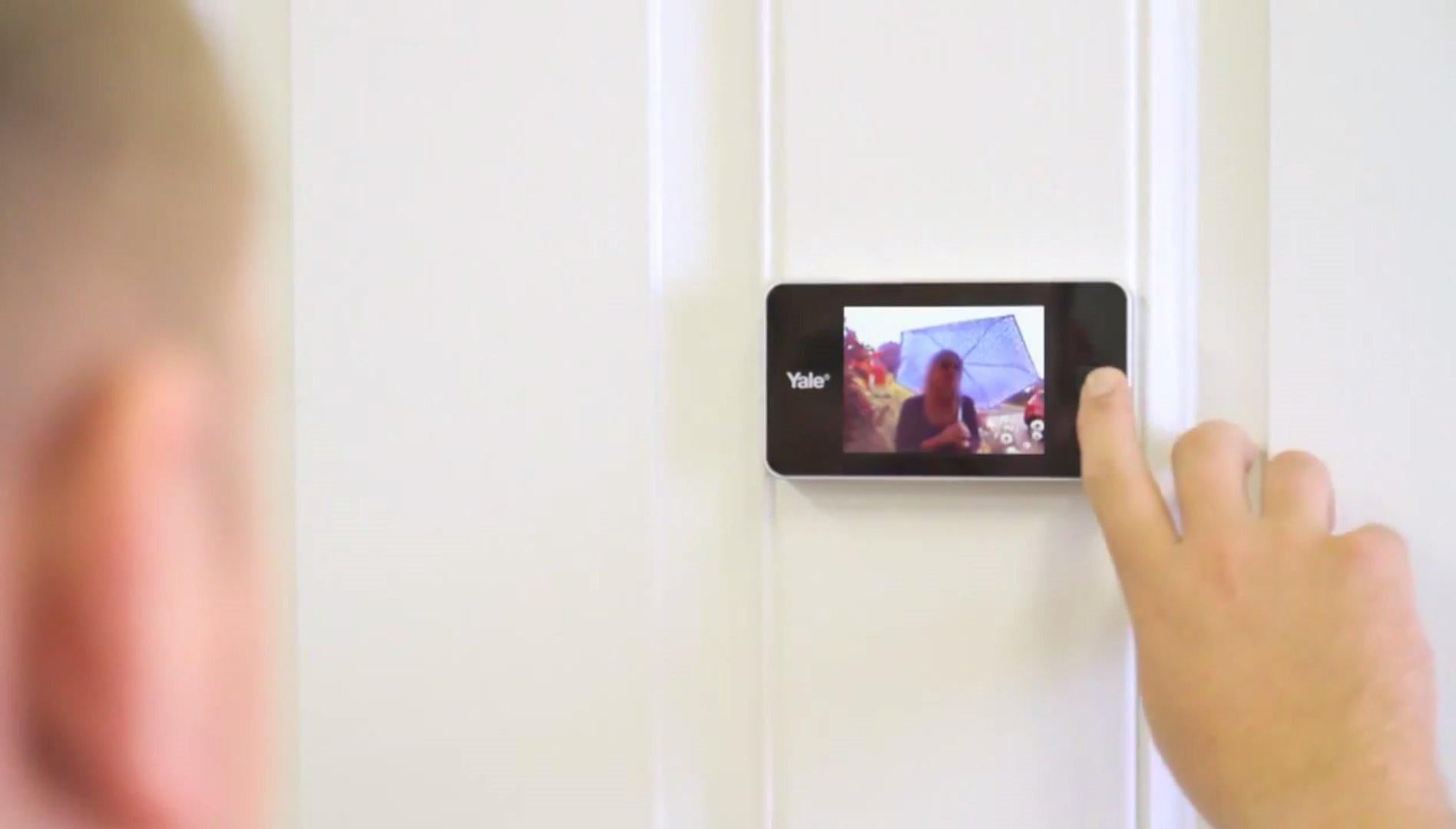 Elektroniske dørkikkerter